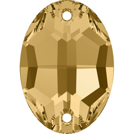 SWAROVSKI  3210 16 х 11 мм. light Colorado Topaz 1 шт.